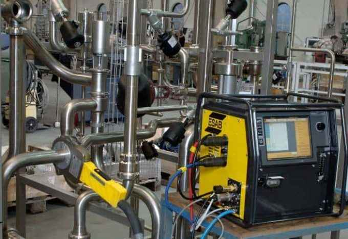 Automatized pipe welding equipment ESAB