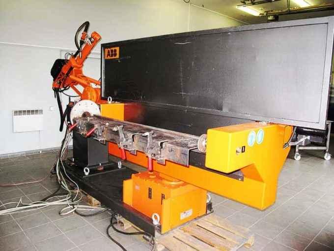 Abb 7 axes robotic welding system