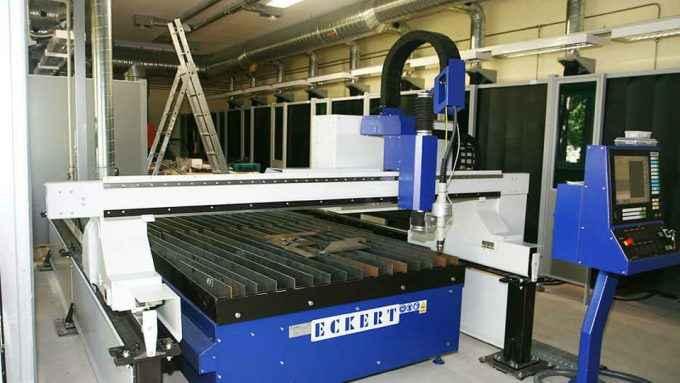 Equipping welding class-portable cutting machine eckert