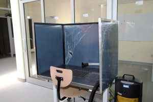 Suvirinimo klasės įrengimas