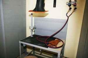 Equipping welding class