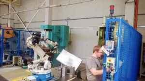 Robotic handling system Manipulator OTC Daihen All V133