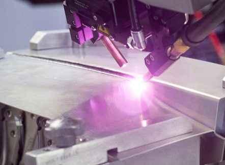Laserline aliuminio virinimas