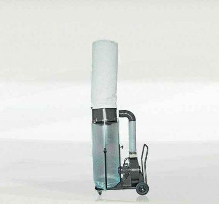 Rg ventiliatorius su dulkių filtro maišu