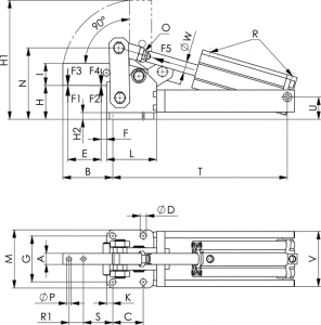 6825a-heavy-pneumatic-toggle-clamp