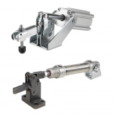AMF Pneumatic toggle clamps